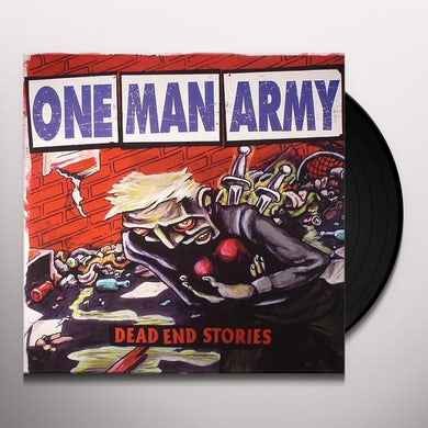 One Man Army DEAD END STORIES Vinyl Record