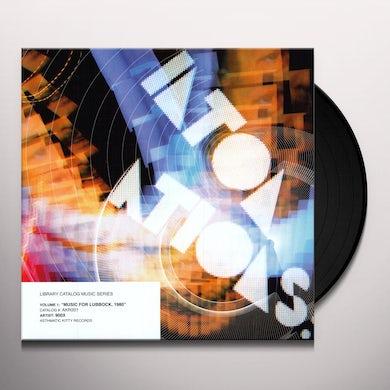 LIBRARY CATALOG MUSIC SERIES: MUSIC FOR LUBBOCK Vinyl Record