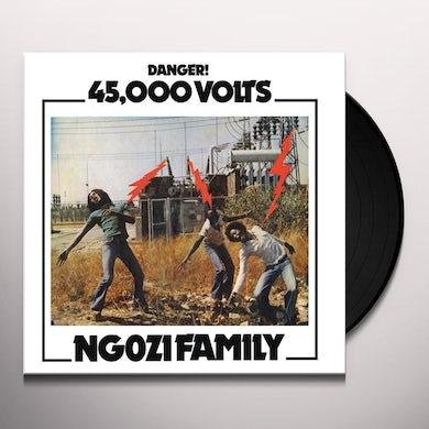 Ngozi Family 45,000 VOLTS Vinyl Record