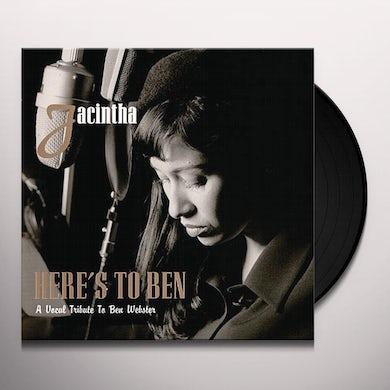 Jacintha HERE'S TO BEN Vinyl Record
