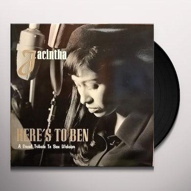 Jacintha Here's To Ben (20th Anniversary) Vinyl Record