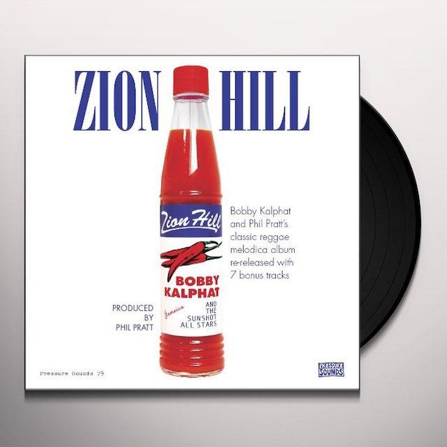Bobby Kalphat & The Sunshot All Stars ZION HILL Vinyl Record