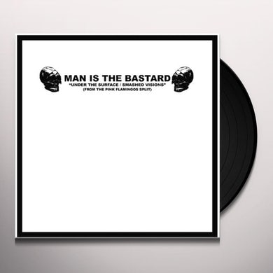 Man Is The Bastard ANGER & ENGLISH - DEPROGRAMMING THE BIGOT Vinyl Record