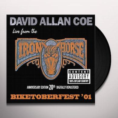 David Allan Coe BIKETOBERFEST '01: LIVE FROM THE IRON HORSE SALOON Vinyl Record