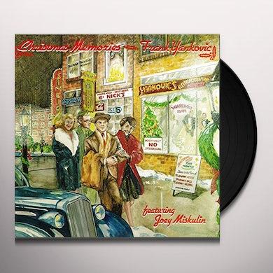 Frank Yankovic CHRISTMAS MEMORIES Vinyl Record