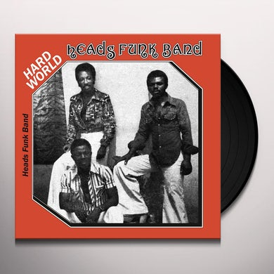 HEADS FUNK BAND HARD WORLD Vinyl Record