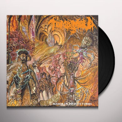 Tomb Mold MANOR OF INFINITE FORMS Vinyl Record