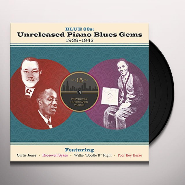 Blue 88S: Unreleased Piano Blues Gems / Various