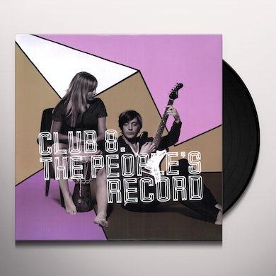 Club 8 PEOPLES RECORD Vinyl Record