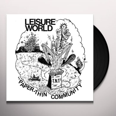 Leisure World PAPER-THIN COMMUNITY Vinyl Record