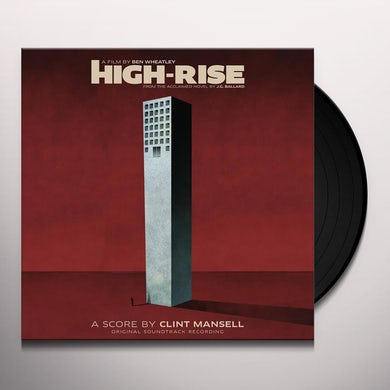 Clint Mansell HIGH-RISE / Original Soundtrack Vinyl Record