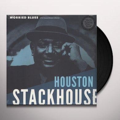 HOUSTON STACKHOUSE WORRIED BLUES Vinyl Record