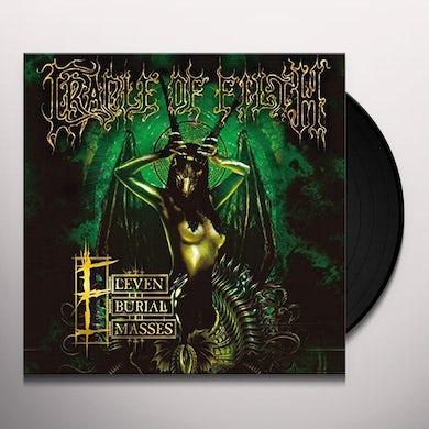 Cradle Of Filth ELEVEN BURIAL MASSES Vinyl Record