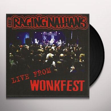 RAGING NATHANS LIVE FROM WONKFEST Vinyl Record
