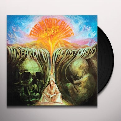 The Moody Blues IN SEARCH OF THE LOST CHORD Vinyl Record