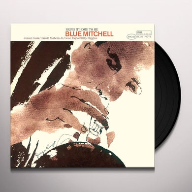 Blue Mitchell BRING IT ON HOME TO ME Vinyl Record