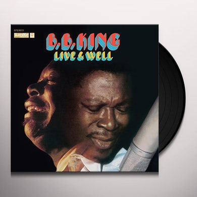 B.B. King LIVE & WELL Vinyl Record