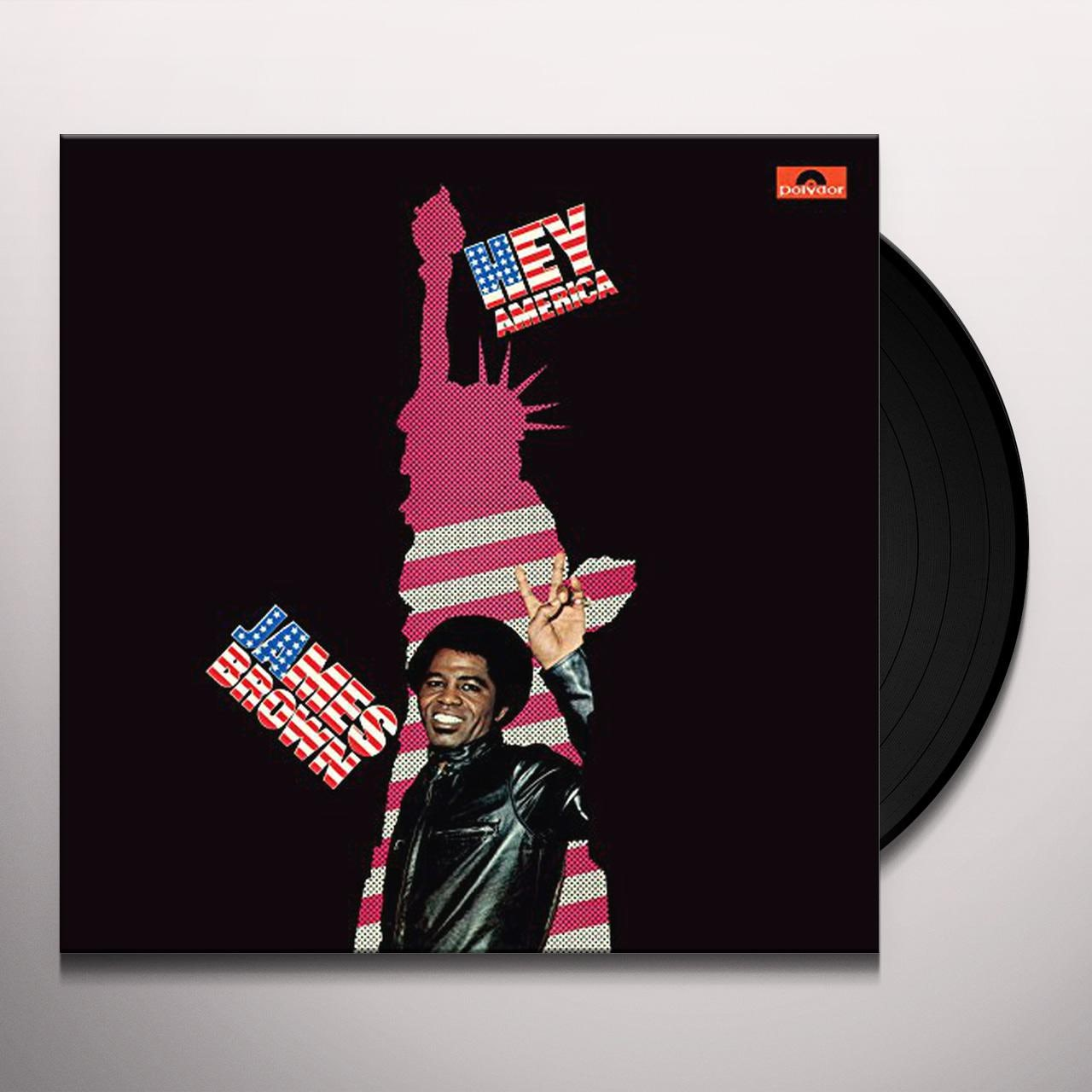James Brown Hey America Vinyl Record