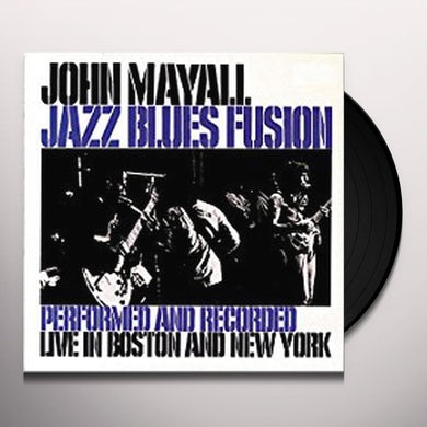 John Mayall JAZZ BLUES FUSION Vinyl Record