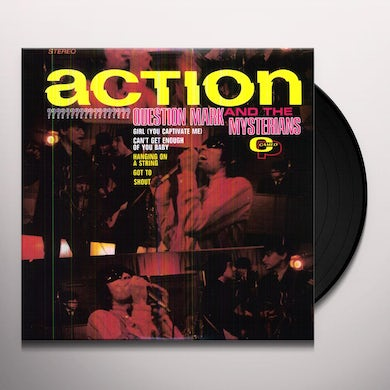 Question Mark & the Mysterians ACTION Vinyl Record - 180 Gram Pressing, Remastered