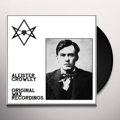 Aleister Crowley ORIGINAL WAX RECORDINGS Vinyl Record
