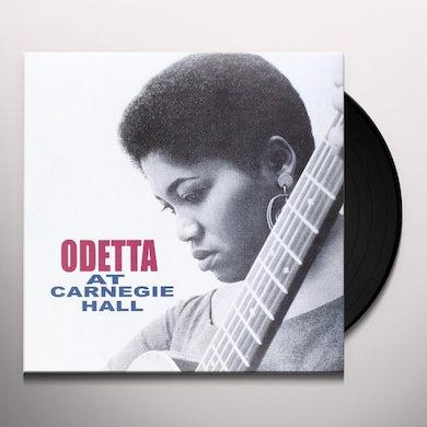 Odetta AT CARNEGIE HALL Vinyl Record
