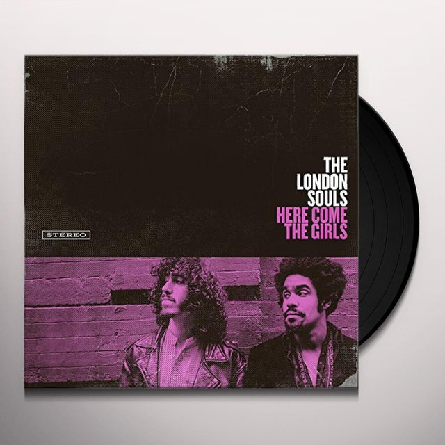 LONDON SOULS HERE COME THE GIRLS Vinyl Record