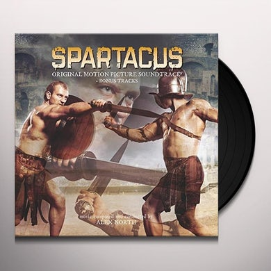 Alex North SPARTACUS / Original Soundtrack Vinyl Record