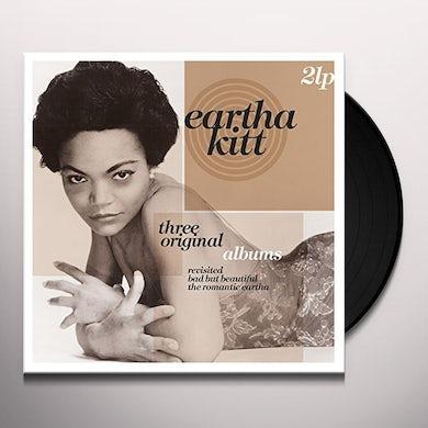 Eartha Kitt THREE ORIGINAL ALBUMS Vinyl Record