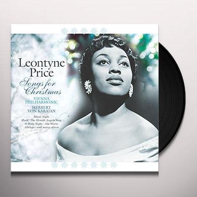 Leontyne Price  SONGS FOR CHRISTMAS Vinyl Record