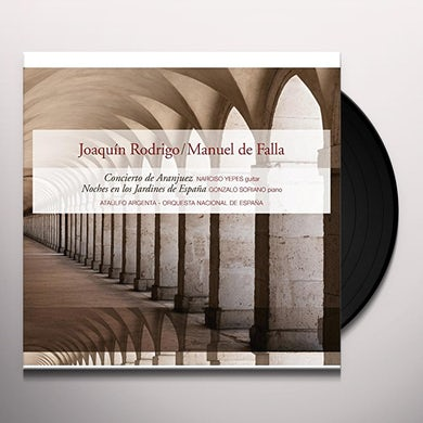 Joaquin Rodrigo CONCIERTO DE A / NOCHES EN LOS JARDINES DE ESPANA Vinyl Record