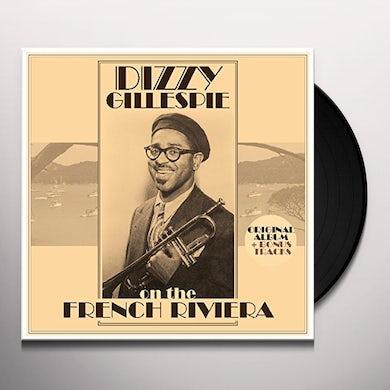 Dizzy Gillespie ON THE FRENCH RIVIERA + BONUS TRACKS Vinyl Record