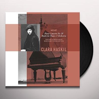 Clara Haskil PIANO CONCERTO 20 Vinyl Record