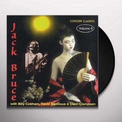 Jack Bruce CONCERT CLASSICS VOL 9 Vinyl Record
