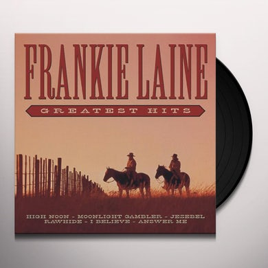 Frankie Laine GREATEST HITS Vinyl Record