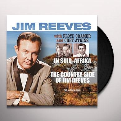 Jim Reeves / Floyd Cramer / Chet Atkins IN SUIDAFRIKA / COUNTRY SIDE OF JIM REEVES Vinyl Record