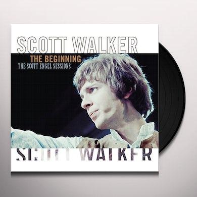 Scott Walker BEGINNING: SCOTT ENGEL SESSIONS Vinyl Record