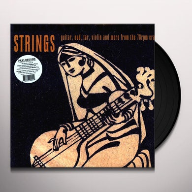 Excavated Shellac: Strings Guitar Oud Tar / Var Vinyl Record