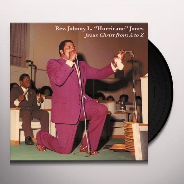 Johnny Jones JESUS CHRIST FROM A TO Z Vinyl Record