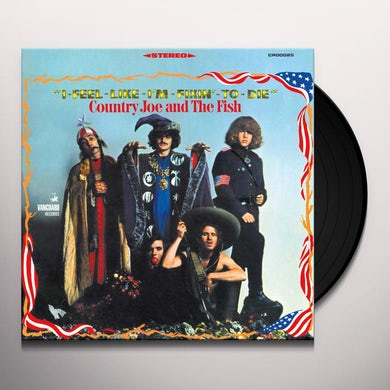I-Feel-Like-I'm-Fixin'-To-Die (LP) Vinyl Record