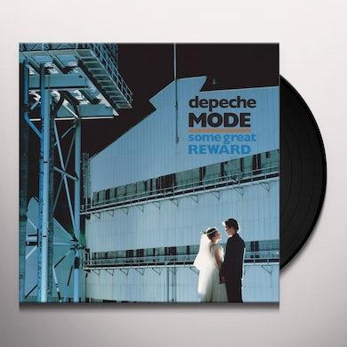Depeche Mode SOME GREAT REWARD Vinyl Record