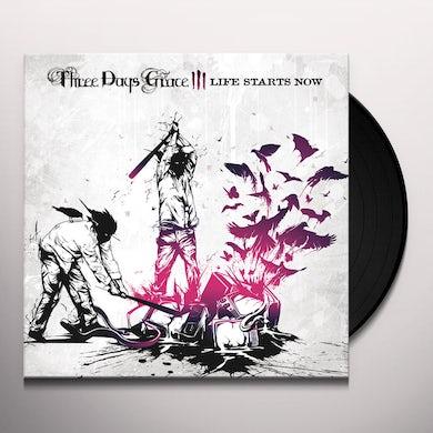 Three Days Grace Life Starts Now Vinyl Record