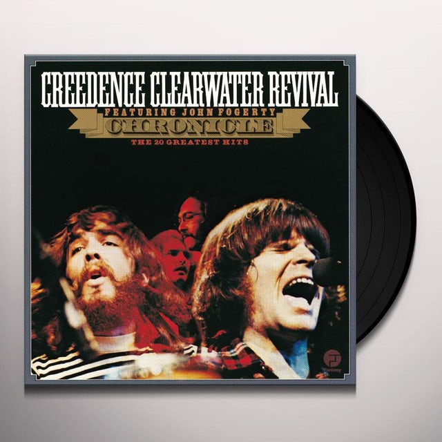 Creedence Clearwater Revival CHRONICLE: THE 20 GREATEST HITS Vinyl Record