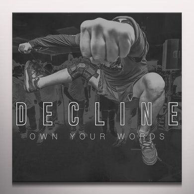 Decline OWN YOUR WORDS Vinyl Record - Gold Disc