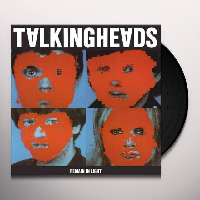 Talking Heads REMAIN IN LIGHT Vinyl Record