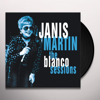 Janis Martin BLANCO SESSIONS Vinyl Record