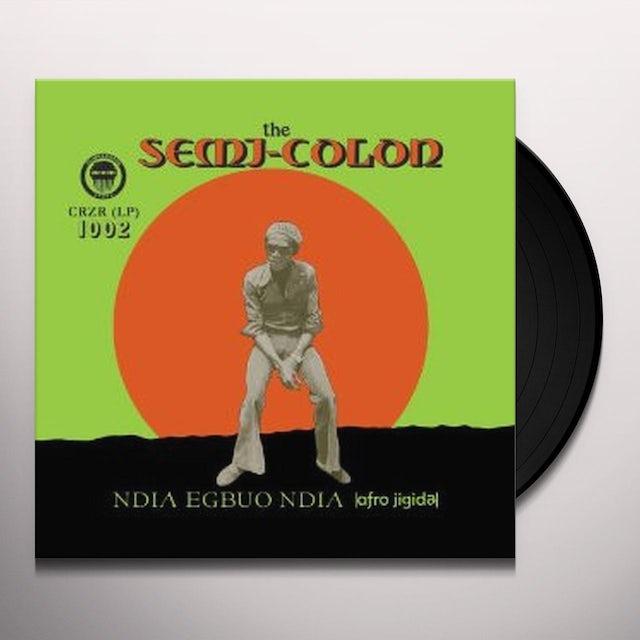 Semi Colon NDIA EGBUO NDIA (AFRO-JIGIDA) Vinyl Record