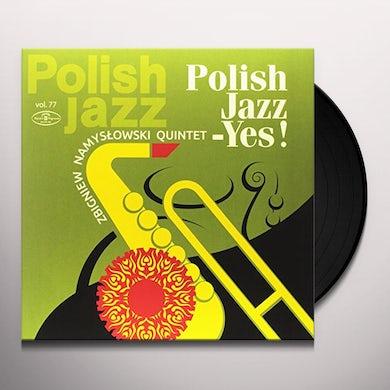 Zbigniew Quintet Namyslowski POLISH JAZZ: YES Vinyl Record