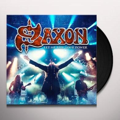 Saxon LET ME FEEL YOUR POWER Vinyl Record