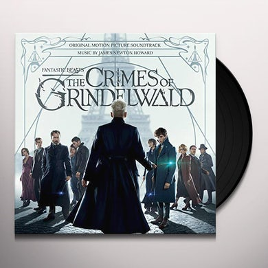 FANTASTIC BEASTS: CRIMES OF GRINDELWALD / Original Soundtrack Vinyl Record
